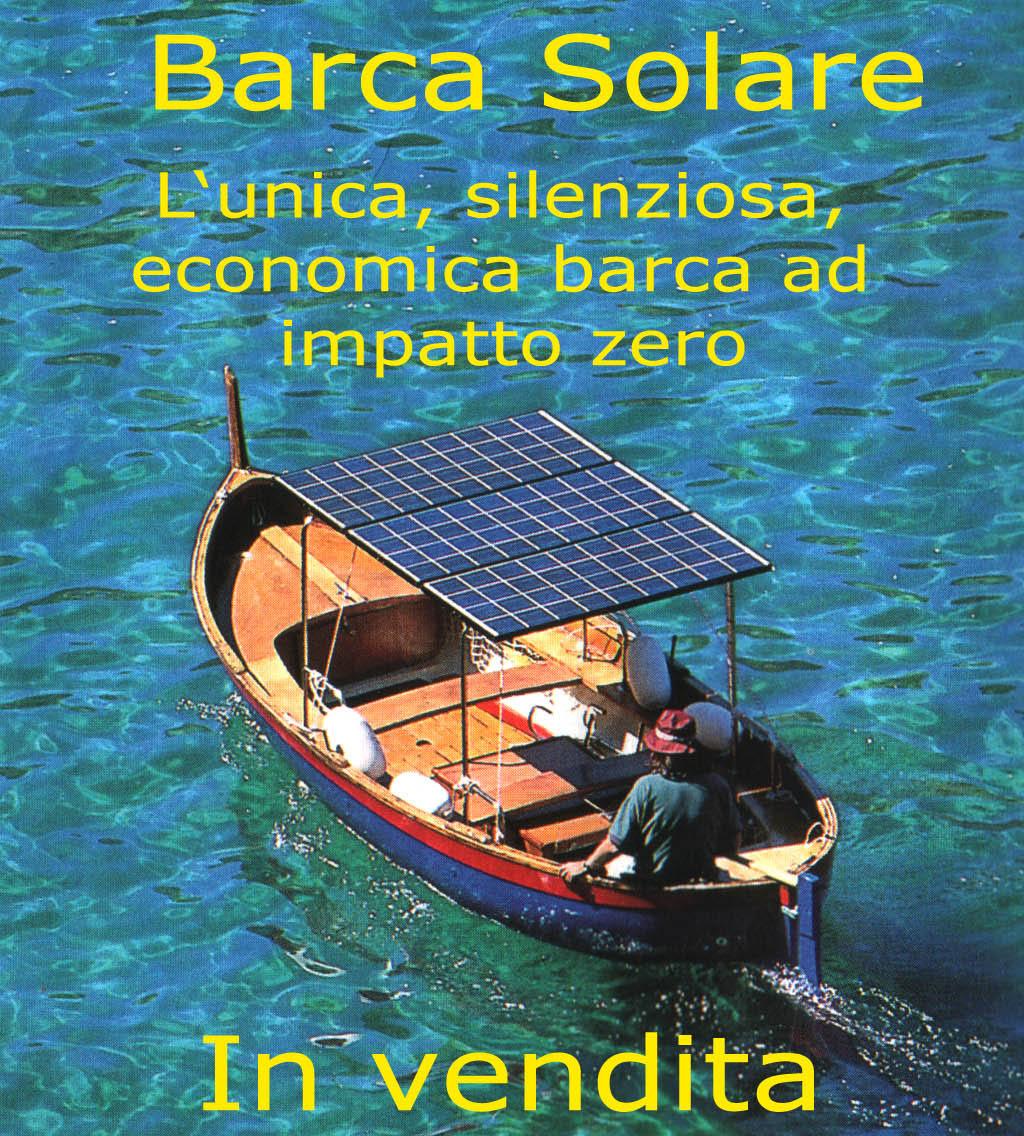 Pannello Solare Per Motore Elettrico : A capraia isola la prima barca elettro solare dell